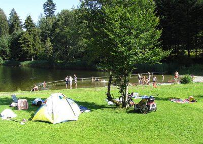 Camping Allgaeu - Badesee - Waldbad Isny - 0914