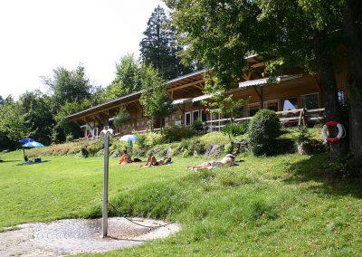 Camping Allgaeu - Badesee - Waldbad Isny - 6579