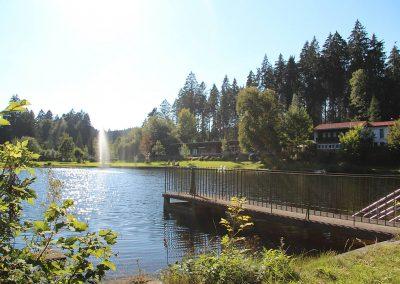 Camping Allgaeu - Badesee - Waldbad Isny - 9420