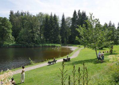 Camping Allgaeu - Badesee - Waldbad Isny - P2510278