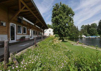 Camping Allgaeu - Badesee - Waldbad Isny - P2510323