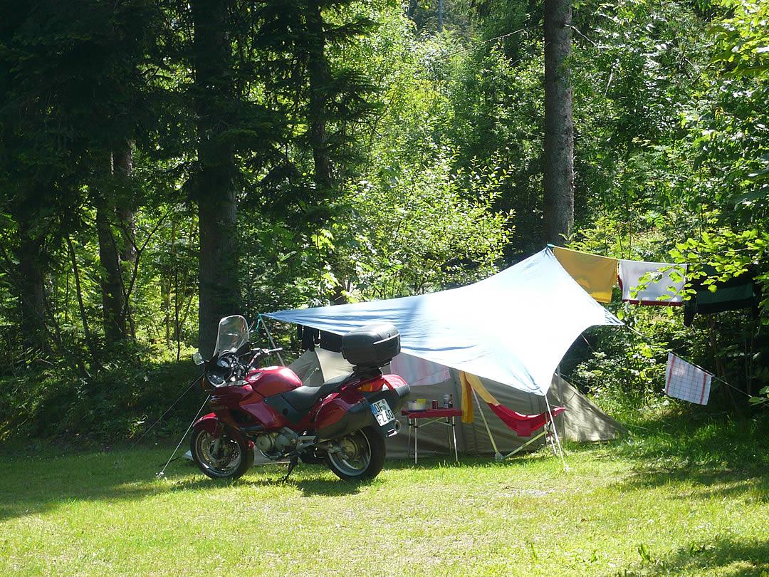 Camping Allgaeu - Campingplatz - Waldbad Isny - P1000867