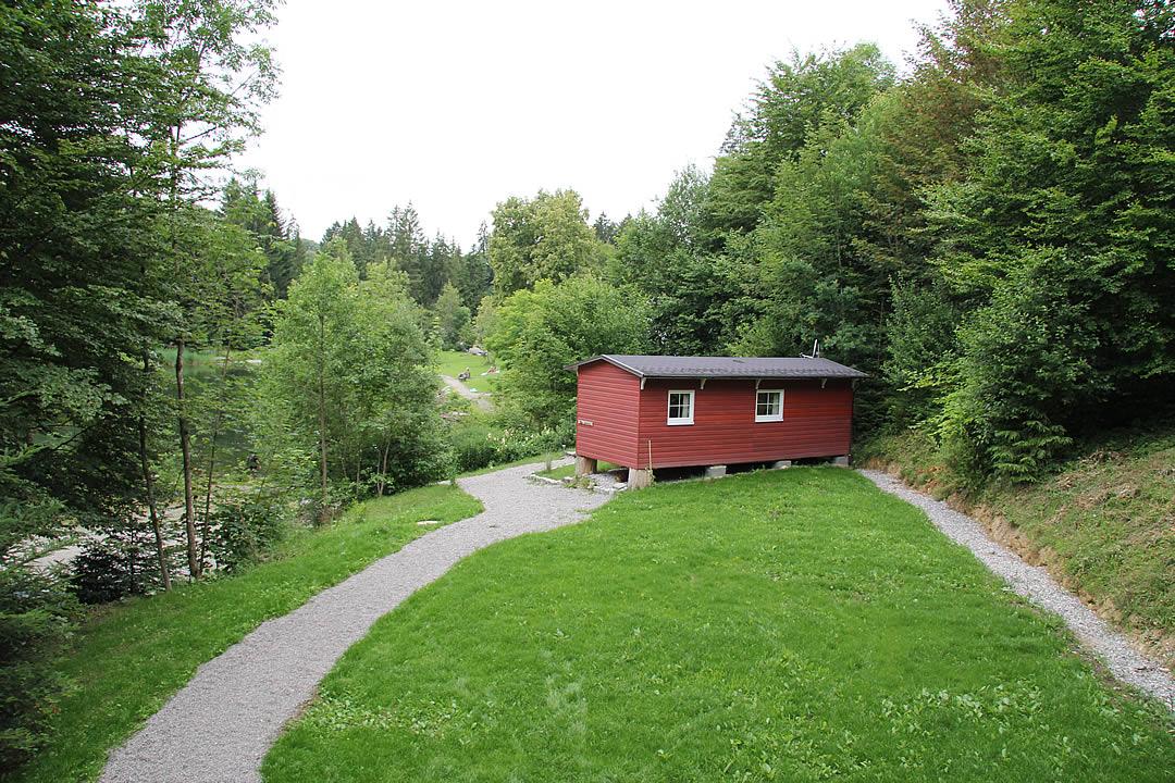 Camping Allgaeu - Ferienhaus - Waldbad Isny - 6576