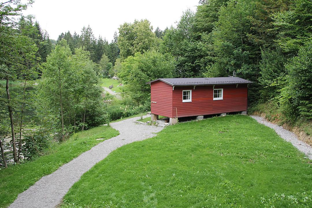 Camping Allgaeu - Ferienhaus - Waldbad Isny - 6578