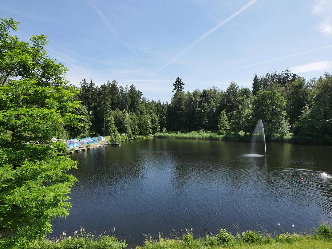 Camping Allgaeu - Ferienwohnung - Waldbad Isny - P2510033