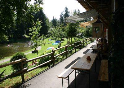 Camping Allgaeu - Gaststaette - Waldbad Isny - 6580