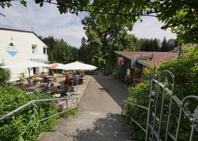 Camping Allgaeu - Rezeption - Waldbad Isny - P2510354