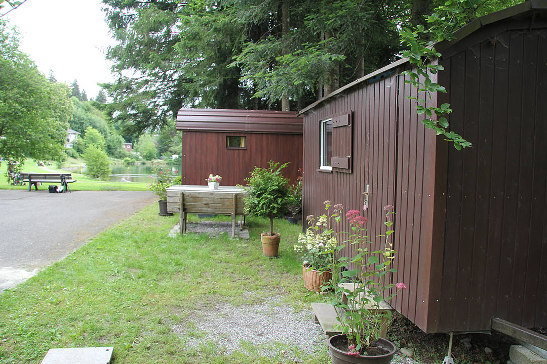 Camping Allgaeu - Schaeferwagen - Waldbad Isny - 6594