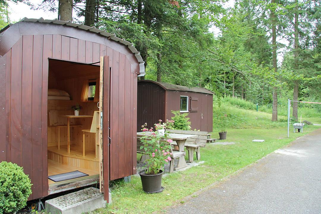 Camping Allgaeu - Schaeferwagen - Waldbad Isny - 6602