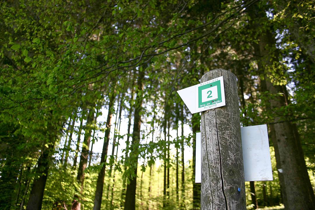 Wandern Ausfluege Camping Allgaeu 2237
